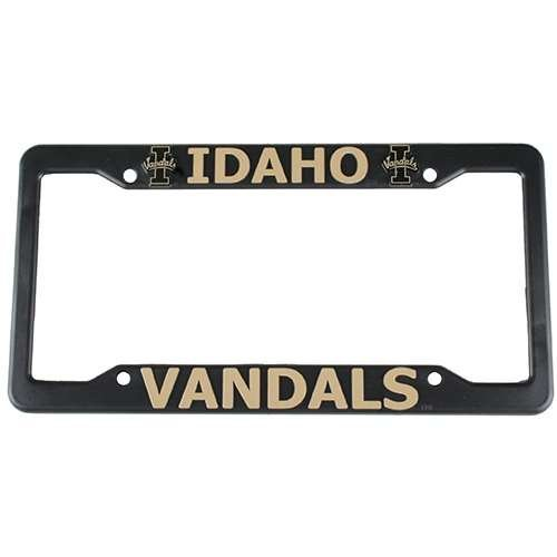 Idaho Vandals Plastic License Plate Frame by Logo Products