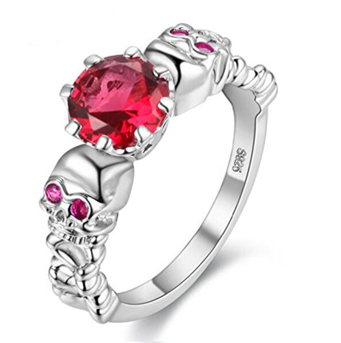 Uloveido creó Ruby Diamond Jewellery Gothic