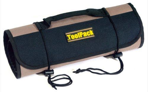 Toolpack 360.062 Werkzeugrolltasche Werkzeugtasche 67 x 36 cm Tasche 22 Fächer