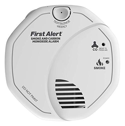 First Alert - Detector de humo y monóxido de carbono [Importado de Reino Unido]
