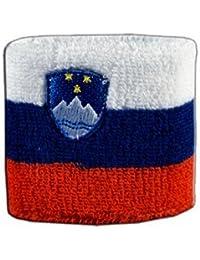 Digni® Poignet éponge avec drapeau Slovénie