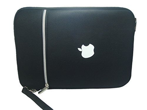 "GenNext-TR Premium Neoprene sleeve for iPad Pro 12.9"", Laptops, Macbook Pro, Macbook Retina Pro, Macbook Air - 13 inch Zip closure for secure, quick access, includes pouch and padded on sides for protection"