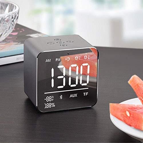 pretty-H Tragbarer drahtloser Bluetooth-Lautsprecher Bass-Lautsprecher Innovativer Alarmkartensteckplatz Mini-Lautsprecher