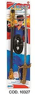 Varie BL. Zorro con Espada y máscara, Color Negro, 10327