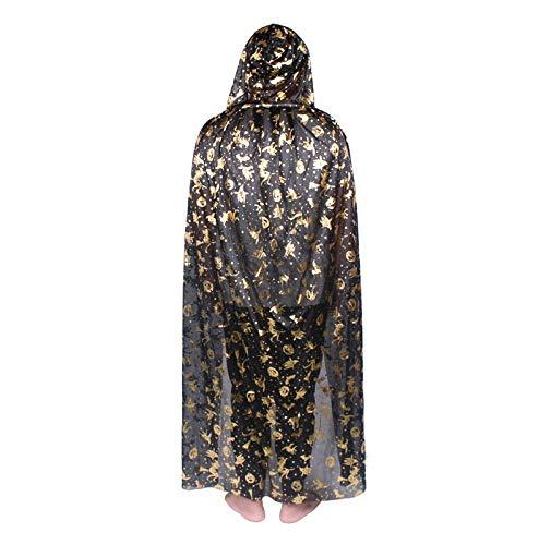 Halloween Cloak Horror Thema Make-Up-Kostüme Festival Themen Mantel (Verschiedene Optional),8