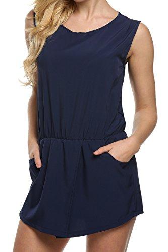 cooshional - Combinaison - Femme Bleu Marine