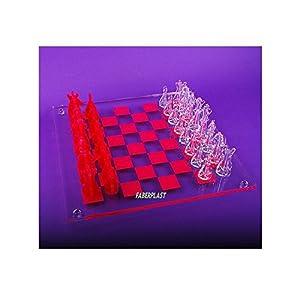 Faberplast- Ajedrez de metacrilato (FB725)