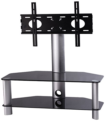 HAMA Mobiletto Porta TV, Supporto VESA 600 x 400, Max 40 kg, 2 Ripiani da 1050 mm, Nero