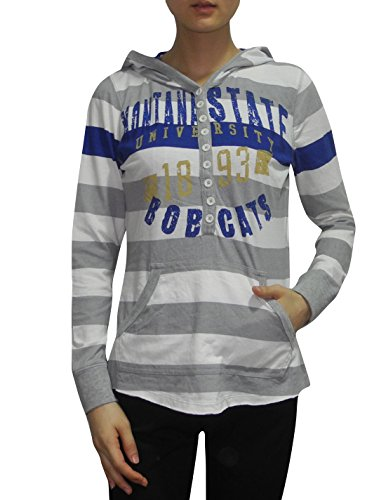 ncaa-montana-state-bobcats-womens-lightweight-hoodie-vintage-look-s-multicolor