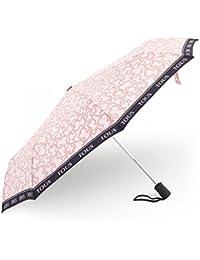 Paraguas plegable Kaos New en color rosa Tous