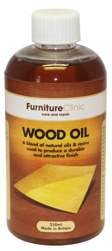 Wood Oil Treatment Bottle (500ml) | Care for Interior & Exterior Wooden Furniture - Oak, Pine, Kitchen, Dining Room Furniture - Protection For Staining and From Water & Dirt