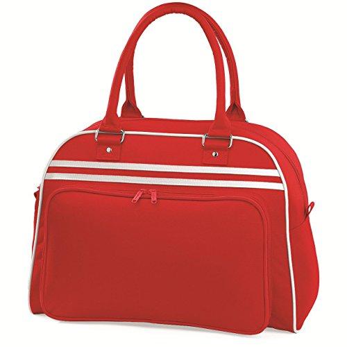 BagBase Retro Bowling Bag 1er Pack Rot