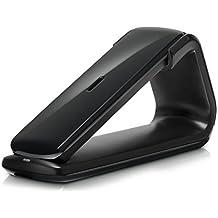 AEG Lloyd 15 - Teléfono inalámbrico Design DECT con contestador, manos libres y función de bloqueos de llamadas, color negro