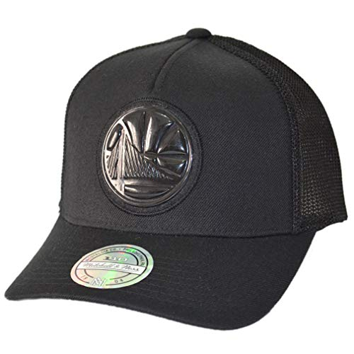 2f0c623b7 Mitchell & Ness Gorra Trucker Zig Zag Golden State Warriors Negro -  Ajustable