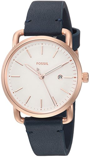 Fossil Analog White Dial Women's Watch-ES4334
