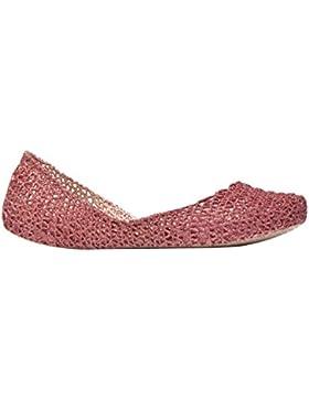 MELISSA CAMPANA PAPEL VII AD 31512 scarpa donna 52829 PINK GLITTER/ROSA MADE IN BRAZIL