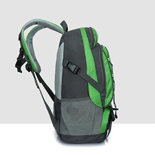 Z&N 25-30L KapazitäT Leichter Bergsteigen Rucksack Unisex Wasserdichte Nylon Reiten Wanderrucksack Outdoor Sport Rucksack Student Tasche GepäCk Tasche B