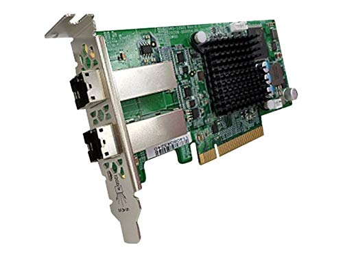 Price comparison product image QNAP SAS-12G2E - 12G SAS DUAL-WIDE-PORT STORAGE EXPANSION CARD (1year warranty)