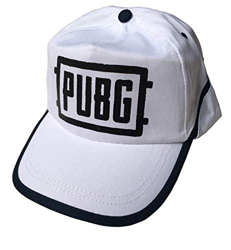 Gorra PUBG Playerunknown's Battlegrounds Blanca