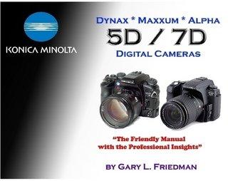Konica Minolta Dynax / Maxxum / Alpha 5D / 7D Digital Cameras Minolta Maxxum 7d
