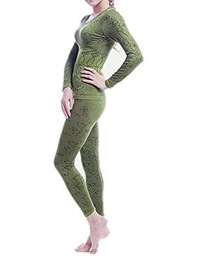 Sanke manches longues sous vêtement thermique série femmes haut fond