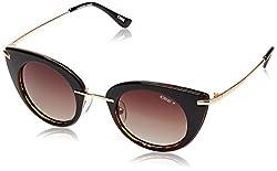 IDEE Polarized Cat Eye Womens Sunglasses - (IDS2171C3PSG|45|Brown Gradient Color)