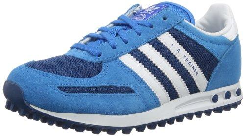 adidas Originals La Trainer K-3 D67903 Unisex - Kinder Sneaker Blau (TRIBE BLUE S14 / RUNNING WHITE / RUNNING WHITE FTW)