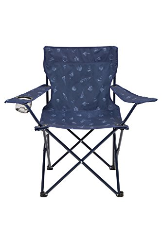 Mountain Warehouse Folding Chair - Patterned Navy