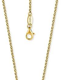 Engelsrufer Erbskette Vergoldet 925er-Sterlingsilber Stärke 2,1 mm Länge 70 cm