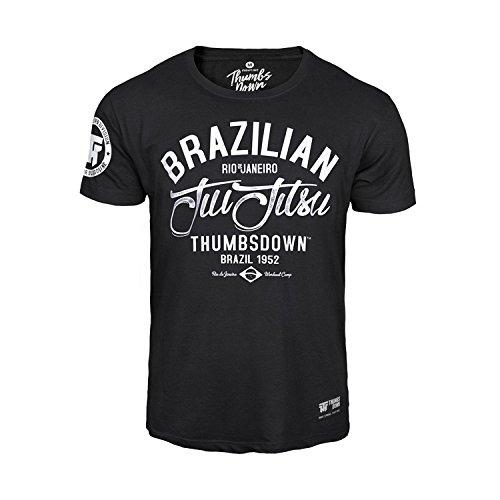 Thumbs Down JIU-Jitsu Brasileño Camiseta Remember Your Roots MMA. Gimnasio Entrenamiento. Marcial Artes Informal E4QYXGlQ4