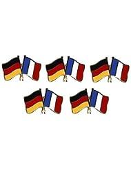 ALLEMAGNE-fRANCE de pin 5 freundschaftspin yantec drapeau