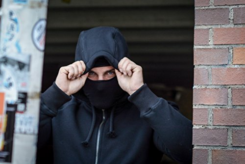 PG Wear Zip Hoody Smuggler Smuggler Schwarz