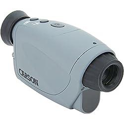 Carson Aura Digital Night Vision 2-4x Monocular with Infrared Illuminator