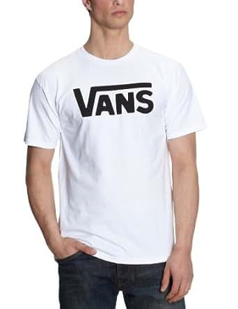 Vans maglietta vans classic manica corta uomo bianco for Vans amazon