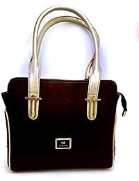Purse Collection Elegance Women's Synthetic Leather, Colour- Brown Handbag/woman Purse Handbag Branded/woman Purse...