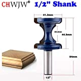 "Ebuy India 1Pc 1/2"" Shank Large Bullnose Bead Router Bit Column Face Chair Rail Mo"