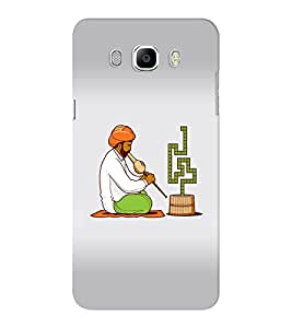 EPICCASE Snake charmers Mobile Back Case Cover For Samsung J5 2016 (Designer Case)