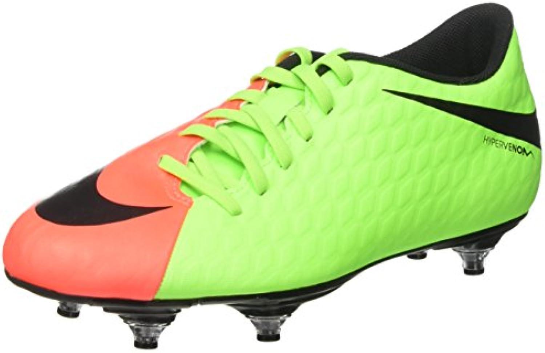 Nike Herren Hypervenom Phade Iii SG Fußballschuhe  Grün  UK