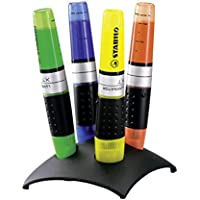 STABILO LUMINATOR  4er Tischset Textmarker, gelb, grün, blau, orange
