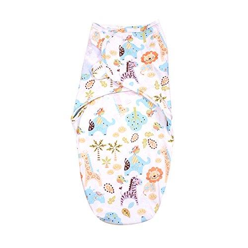 iEvolve 100{7b53322ec62cbb8edfdb613a9a34d592c9f76fae4b2edd1b0d1da2927d55073f} Baumwolle Baby Pucksack pucktücher Mädchen Junge Buntes Drucken 0-3 Monate