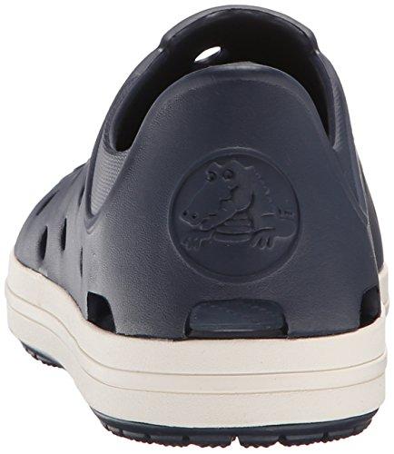 CrocsBumper Toe - Stivaletti Unisex per bambini Blu (Navy/Oyster)