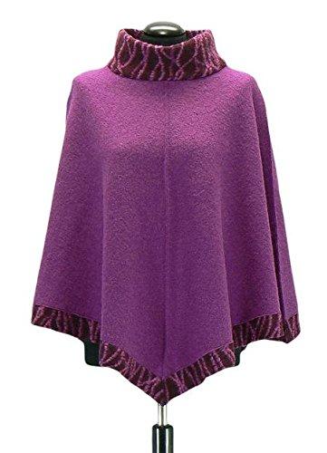 Rockabilly Plus Kostüme Größe (Schnittquelle Schnittmuster: Poncho Tromso (Gr.46) - Einzelgrößenschnittmuster von 36 -)