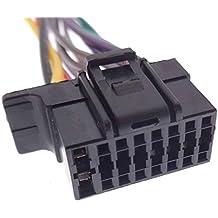 Sony (3) Cable de radio de coche radio adaptador conector DIN ISO cable de conexión Cable Árbol