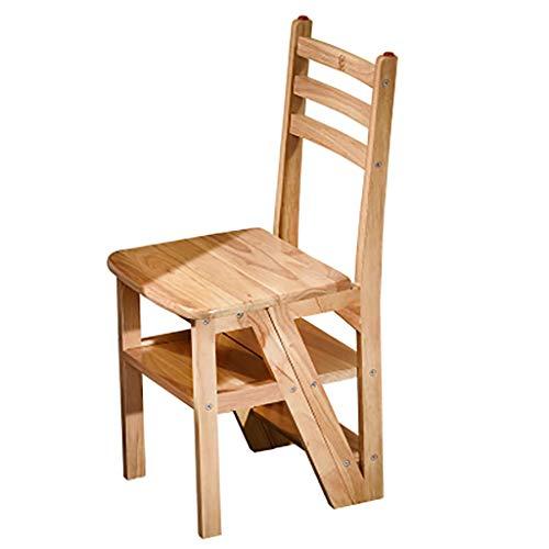 Staircase Klappstühle Eiche Multifunktions Haushalt Holz Trittleiter