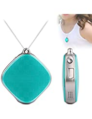Micodus Personal GPS Tracker For Kids Mini GSM GPRS Locator Real Time Tracking Device Google Maps SOS Alarm (Green)
