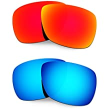 Hkuco Plus Mens Replacement Lenses For Oakley Inmate - 2 pair