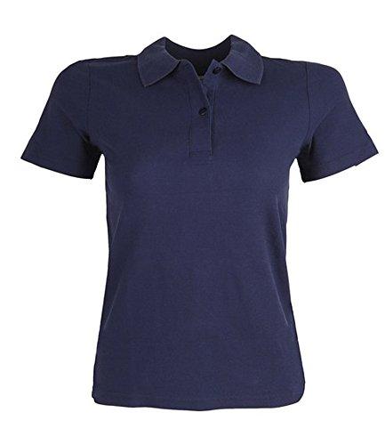 HKM femmes Stedman Polo pour Homme - Bleu foncé