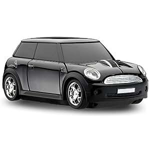 MotorMouse - Wireless USB-Maus - Funkmaus - BMW Mini Cooper S - Schwarz