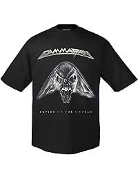 Gamma Ray Empire Skull T-Shirt