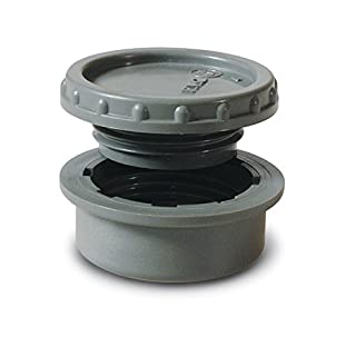 anzapack 857692z-Stopfen Log-Gewinde 40mm PVC-.